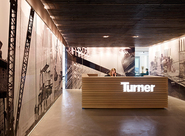 Paulett Taggart Architects Turner Construction Offices